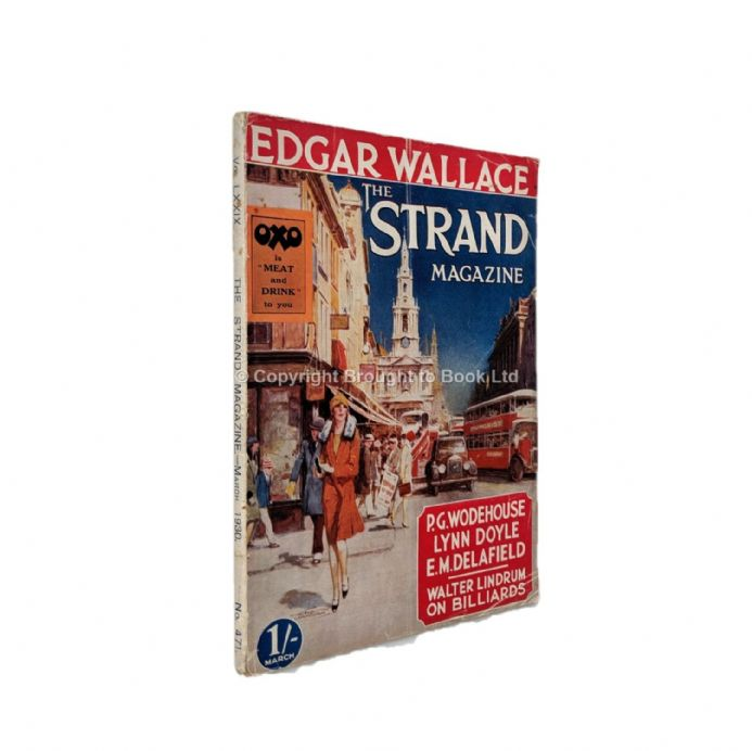 The Strand Magazine 471 March 1930 P.G. Wodehouse Edgar Wallace Sapper